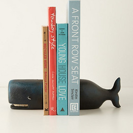 Anthropologie - Victorian Whale Bookends