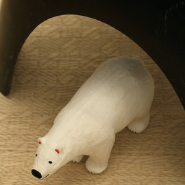 NIGO®×橋本彰一×片山正通 - 1/90 size polar bear in papier mache