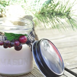 Luulla - Mistletoe Soy Candle 8oz Jar Holiday Scent clearance