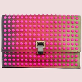 Proenza Schouler - Studded Degrade Leather Clutch