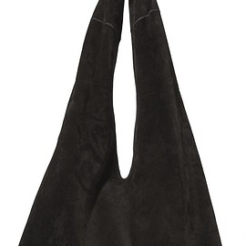 The Row - Knot suede shoulder bag