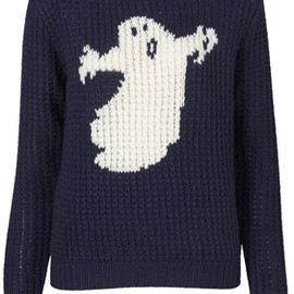 TOPSHOP - Ghost Handknit Sweater by J.W. Anderson for Topshop