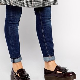 ASOS - Image 1 of Truffle Collection Kiltie Flatform Shoes