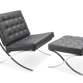 Knoll - Barcelona Chair & Ottoman by Mies van der Rohe