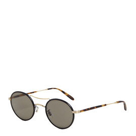 Garrett Leight California Optical - Men's Harrison Spotted Tortoise Sunglasses