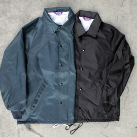 A.S.W - Oxford Nylon Coaches Jacket-MADE IN USA