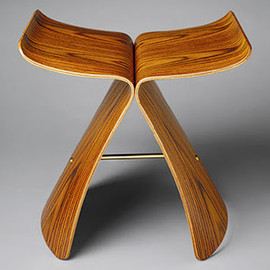 tendo - vintage butterfly stool