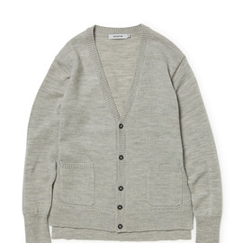 nonnative - DWELLER CARDIGAN WOOL SOLID