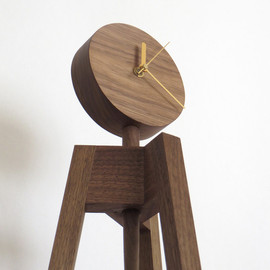 kamakura terrace - three legged clock / photo stand|floor type