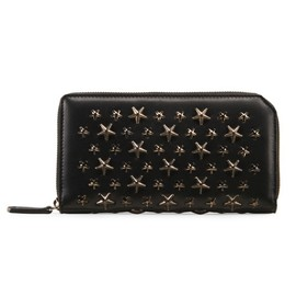 Jimmy Choo - Shiny calf wallet