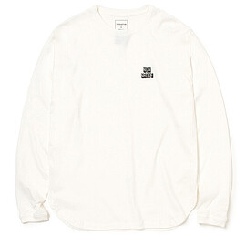 nonnative - DWELLER L/S TEE 'SOUTH' by LORD ECHO