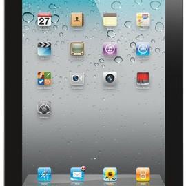 Apple - iPad 2 with Wi-Fi 64GB (Black)