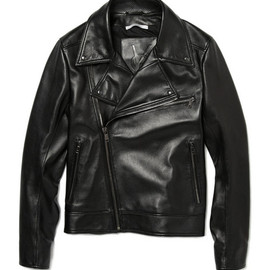 Yves Saint Laurent - Nappa Leather Biker Jacket