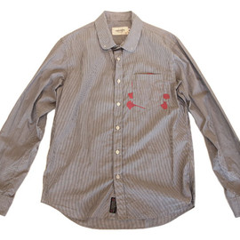 assemble - stripe shirt (BK stripe)