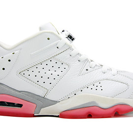 Nike - Air Jordan 6 Retro Low White/Coral Rose