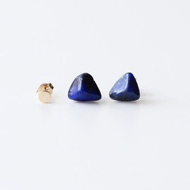 in her - Elements earrings Lapis lazuli