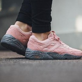 PUMA - PUMA R698 CORAL CLOUD PINK-STEEL GREY