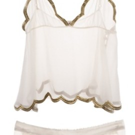 Ell & Cee - Ell & Cee SUNRISE LUXE GOLD CAMISOLE SET
