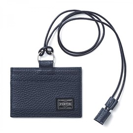 "HEAD PORTER - ""LUCCA"" PASS CASE NAVY"