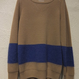 CARVEN - Mohair Stripe Knit Pullover
