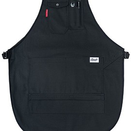 Earnest - Squire Double-Layer Workshop Apron - K-CANVAS® Reinforced - Black