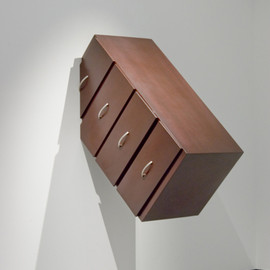 "plasticdreams:""Cajonera"" (Drawer), 2006wood120 x 55 x 50 cmby Alberto Patiño Núñez"