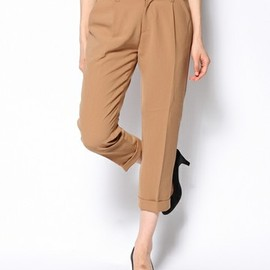 ROSE BUD - FRONT TUCKED PANTS