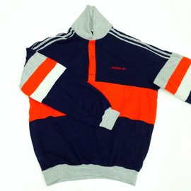 adidas - 80's PULL OVER made in FRANCE