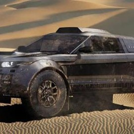 Range Rover - Range Rover Evoque Set For Rally Dakar Range Rover Evoque Dakar 1