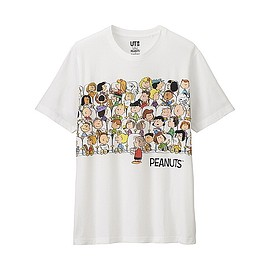 UNIQLO - Peanuts Short Sleeve Graphic T-Shirt