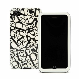 kate spade NEW YORK - iPhone 4/4S ケース (Falling Letters)