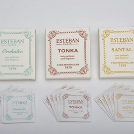 ESTEBAN - card fragrance