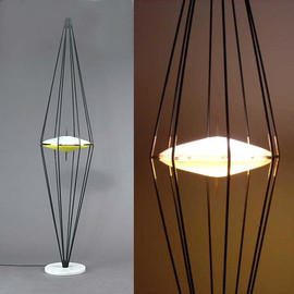 1958,arredoluce(a progressive company) Angelo Lelli,Ettore Sottsass - floor light - floor light