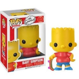"Funko - Bart Simpson: ~3.75"" Funko POP The シンプソンズ Vinyl フィギュア"