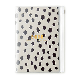 Kate Spade New York - flamingo dot monthly planner