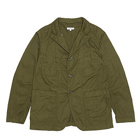 ENGINEERED GARMENTS - Bedford Jacket-7oz Cotton Twill-Olive