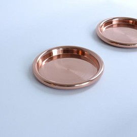 "hem (Discipline) - ""Roule"" Coaster Set (copper)"