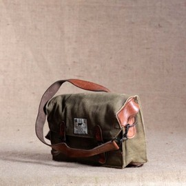 WILL LEATHER GOODS - Camera bag olive