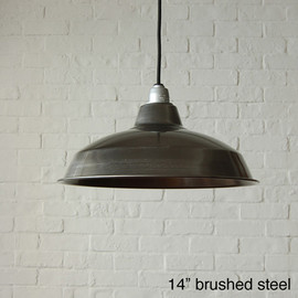PACIFIC FURNITURE SERVICE - LAMP SHADE (Brushed Steel)