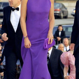Lady Diana - Purple Gown