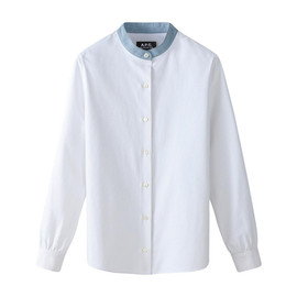 A.P.C. - APC Shirt with contrasting collar