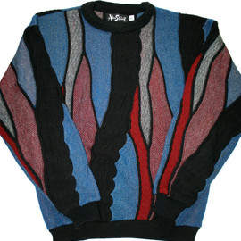 VINTAGE - Vintage 80s Sweater Made in USA Mens Size Medium