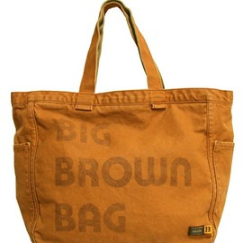 "2-tacs×PORTER - 『BROWN by 2-tacs』 ""BIG BROWN BAG"""