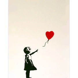 Banksy - Girl with Baloon