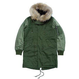 BALYN - M-51 TYPE 3WAY JACKET -OLIVE-