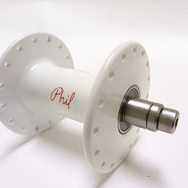 Phil Wood - Front Track Hub 100mm White