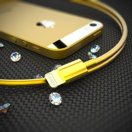 Billionaire - Golden Lightning Dock Connector