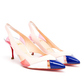 Christian Louboutin - Air Chance Leather Sling-Backs