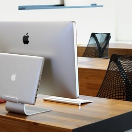 Just Mobile - AluRack™ - The laptop mount for Apple iMac and ThunderBolt Display