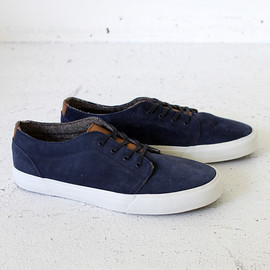 VANS - VANS 106 Vulcanized CA - Suede Dress Blues 01